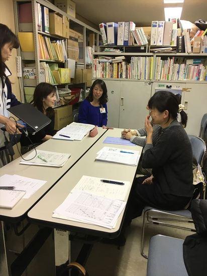子育て支援課との会議